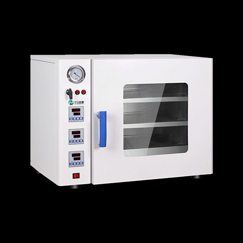 台式一体机真空干燥箱的应用操作步骤
